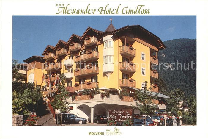 Molveno Alexander Hotel Cima Tosa  Kat. Italien