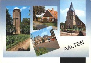 Aalten Turm Platz Kirche Kat. Niederlande