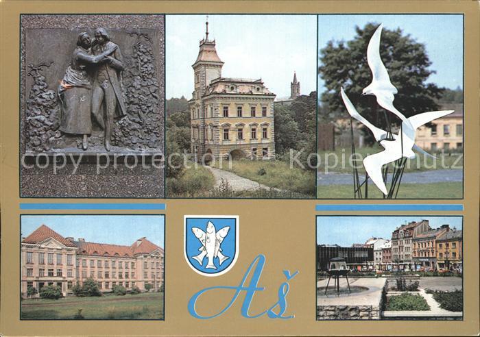 Asch Tschechien as asch tschechien as nr ks19598 oldthing ansichtskarten