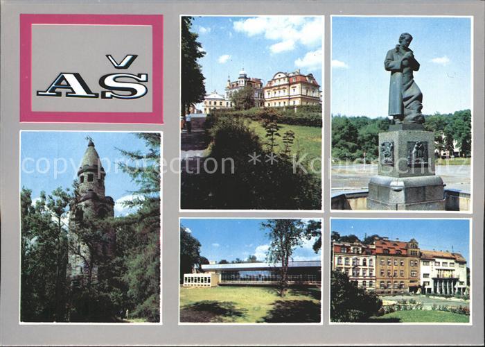 Asch Tschechien as asch tschechien as nr ks19599 oldthing ansichtskarten