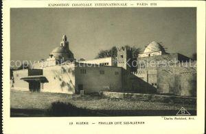Algerien Pavillon Cote  Kat. Algerien