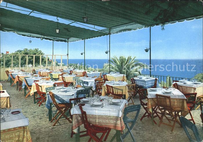 Capri Hotel Excelsior Parco Terrazza Ristorante Kat. Golfo di Napoli ...
