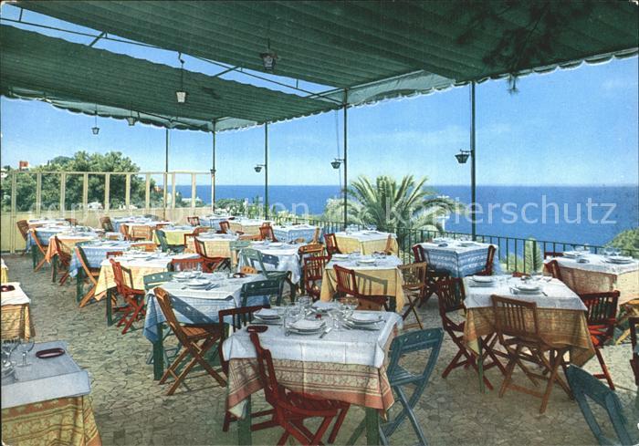 Capri Terrazza Ristorante Hotel Excelsior Parco Kat. Golfo di Napoli ...