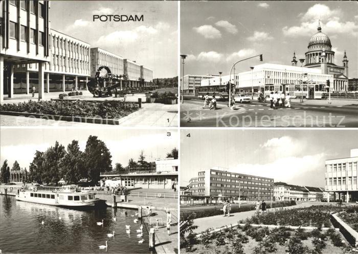 Potsdam Friedrich Ebert Strasse Platz der Einheit Anlegestelle Weisse Flotte Kat. Potsdam