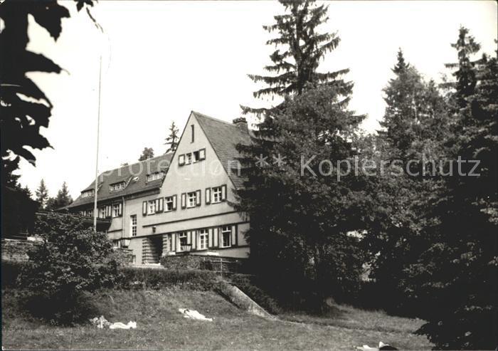 Gruenhain Erzgebirge Genesungsheim