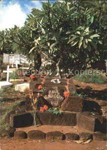Marquises La tombe de Paul Gauguin