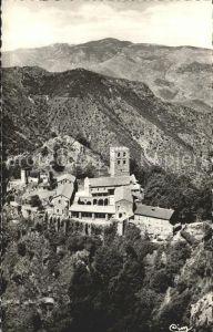 Saint Martin du Canigou Vue generale de l'Abbaye / Abbaye Saint Martin du Canigou /Arrond. de Perpignan