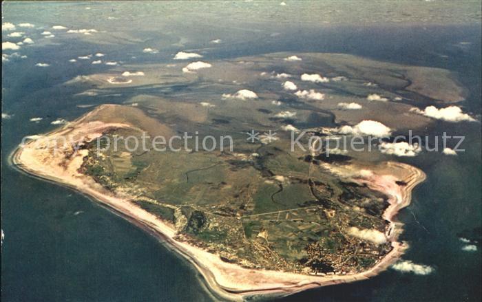 Borkum Nordseebad Fliegeraufnahme aus 4800 m Hoehe Nordseeinsel Kat. Borkum