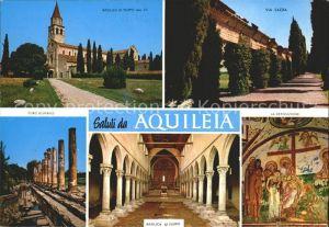 Aquileia Basilika Poppo Via Sacra  Kat. Italien