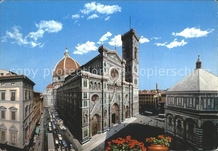 Firenze Toscana Dom Taufkirche  Kat. Firenze