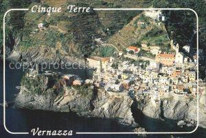 Vernazza 5 Terre Fliegeraufnahme  Kat. La Spezia