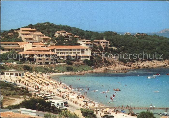 Sardinien Italien Strand Bucht Hotel Kat Italien