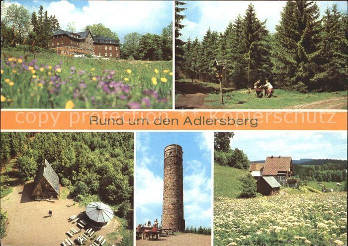 Adlersberg Stutenhaus Vesser Stutenhaus Kat. Schmiedefeld Rennsteig