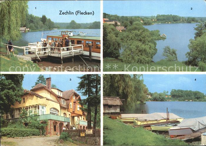 Zechlin Flecken am Schwarzen See Erholungsheim Elsenhoehe