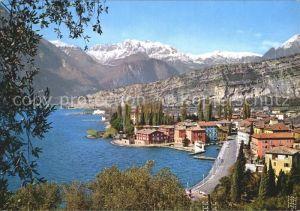 Torbole Lago di Garda Lago di Garda Gardasee Teilansicht Kat. Italien