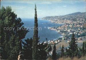 Sanremo Ansicht aus dem Osten Kat.