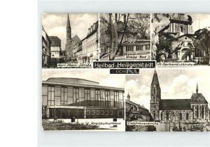 Heiligenstadt Eichsfeld Kneipp Bad Liebfrauenkirche Kreiskulturhaus Kat. Heiligenstadt