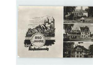 Klosterlausnitz Bad Sanatorium Doktor Friedrich Wolf Markt Rathaus Kat. Bad Klosterlausnitz