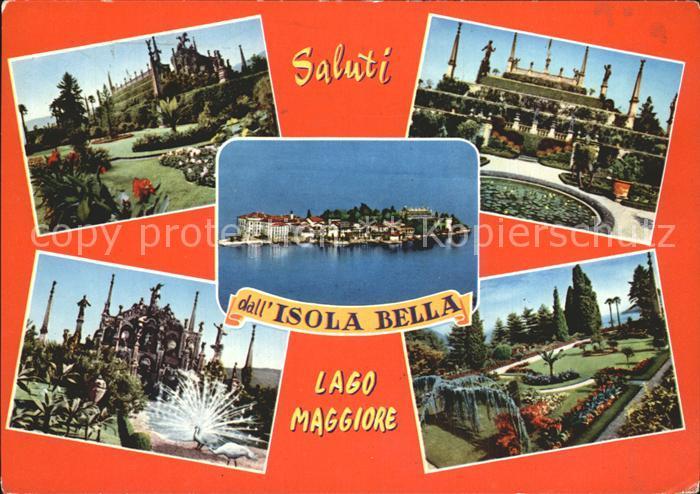 Isola Bella Lago Maggiore Palazzo Borromeo Borromaeische Inseln Kat. Lago Maggiore