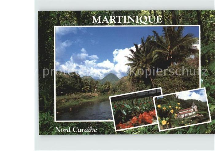 Martinique Nord Caraibe Kat. Martinique