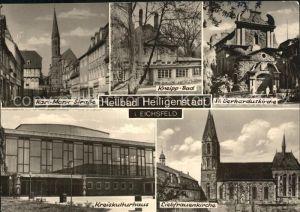 Heiligenstadt Eichsfeld Karl Marx Strasse Kneipp Bad Liebfrauenkirche Kat. Heiligenstadt