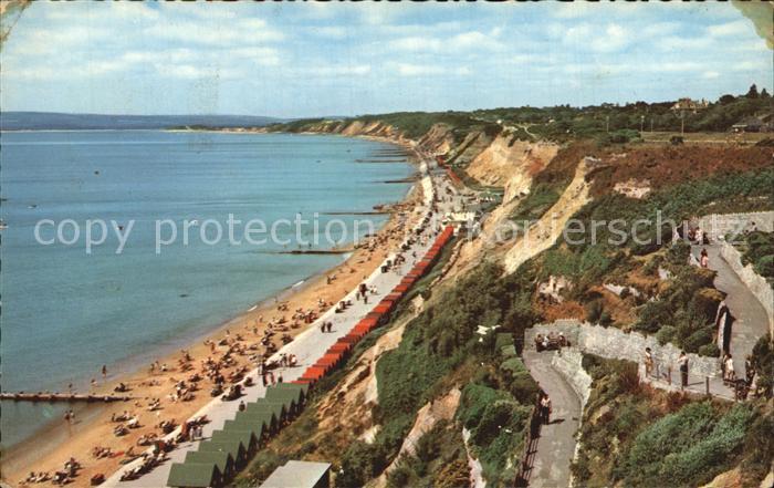 Bournemouth UK Zig Zag Path Promenade Kat. Bournemouth