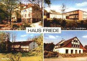Bredenscheid Hattingen Haus Friede  Kat. Hattingen Ruhr