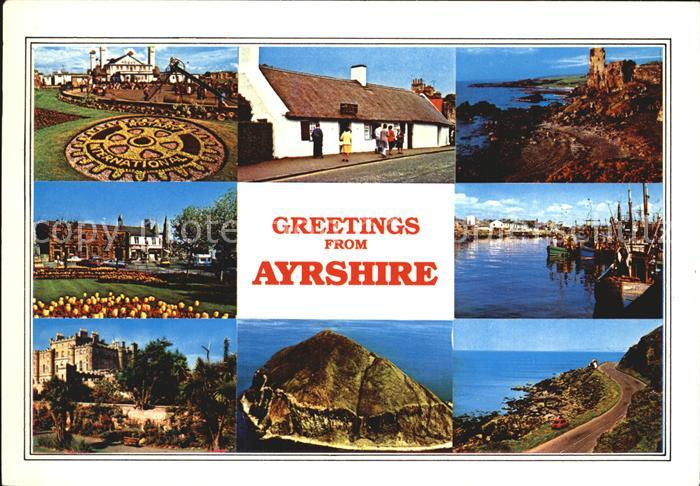 Alloway Ayrshire Prestwick Ayr Culzean Kennedy`s Pass / Ayrshire /