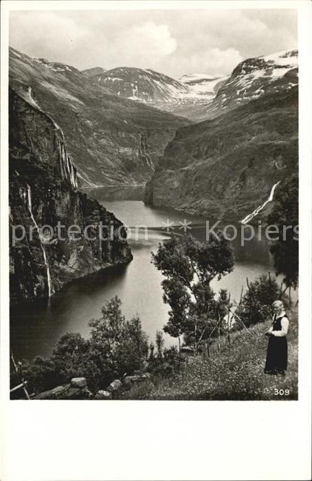 Norwegen Norge Fjordlandskap Kat. Norwegen