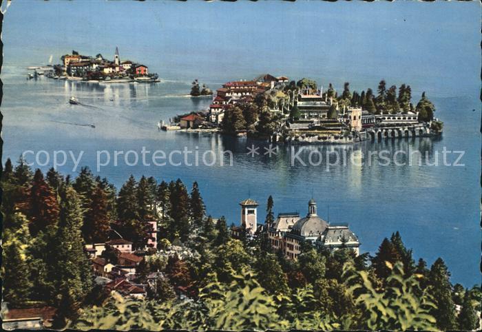 Isola Bella Lago Maggiore Panorama Kat. Lago Maggiore