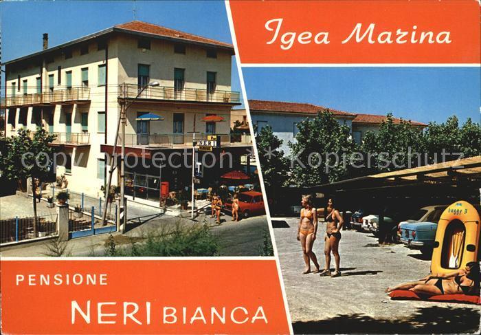 Igea Marina Pensione Neri Bianca Kat. Bellaria Igea Marina