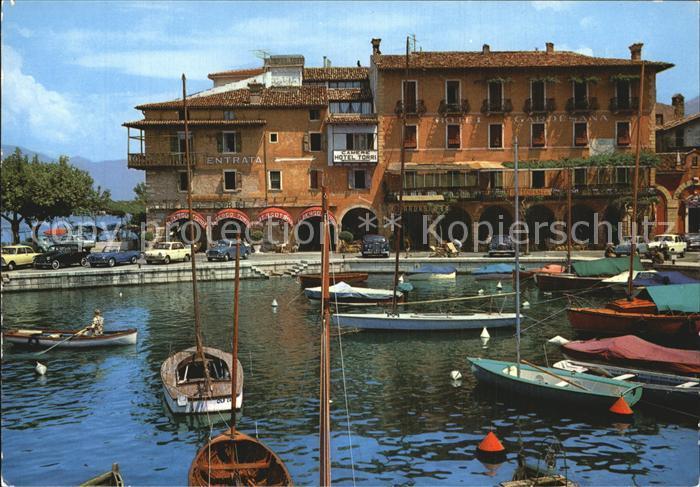 Torri del Benaco Lago di Garda Il Porto Kat. Lago di Garda