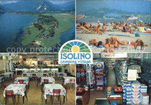 Lago Maggiore Isolino Camping Village Kat. Italien