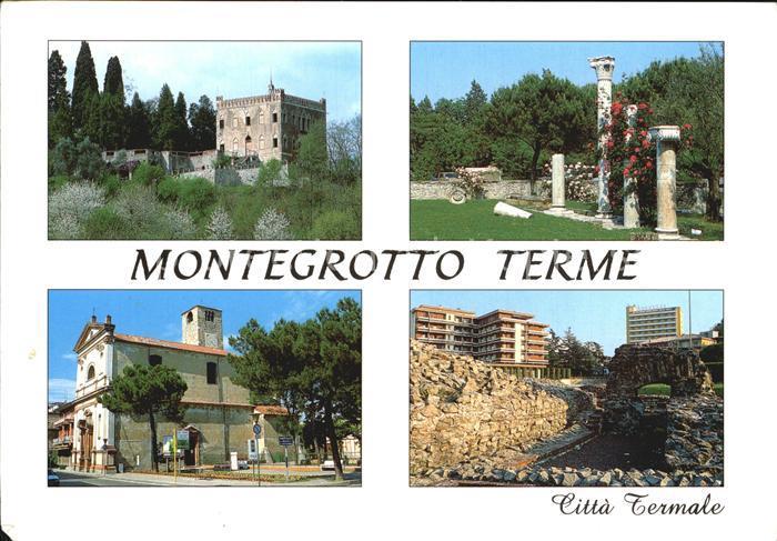 Montegrotto Terme Terme Euganee Citta Termale Stazione ...