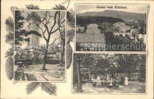 Kottmar Kottmarberg mit Turm und Gaststaette Kat. Kottmar