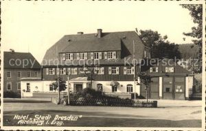 Altenberg Erzgebirge Hotel Stadt Dresden Kat. Geising