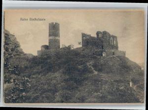Burgen Burgen Ruine Bischofstein * / Burgen und Schloesser /