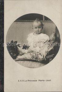 Adel S.A.R. La Princesse Marie-Jose / Koenigshaeuser /