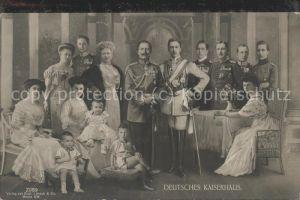 Adel Deutsches Kaiserhaus / Koenigshaeuser /