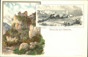 Mutter K. Wildenstein Donauthal Beuron Nr. 59 Kat. Kuenstlerlitho