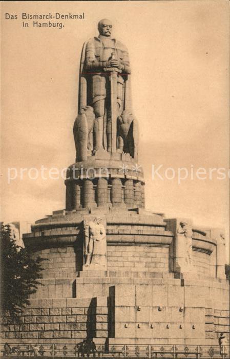 Denkmal Bismarck Denkmal Hamburg / Denkmaeler /