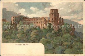 Burgen Heidelberg Kat. Burgen und Schloesser