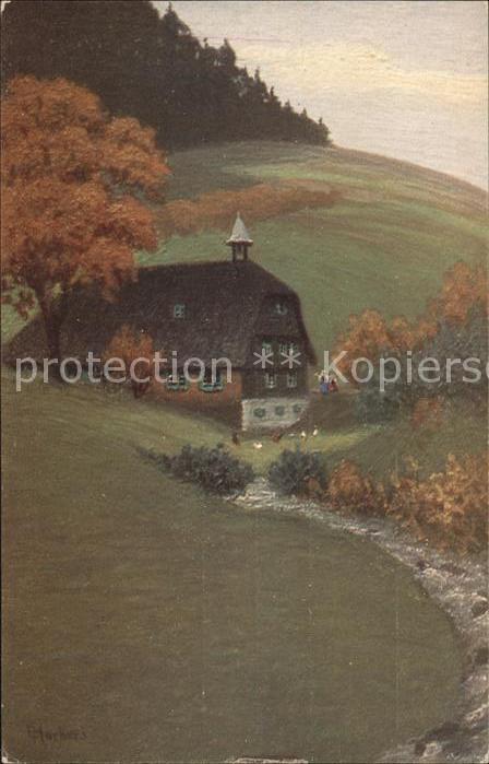 Harbers E. Nr. 35377 Landschaften Kat. Schwarzwaldkuenstler