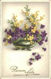 Blumen Bonne fete Kat. Pflanzen