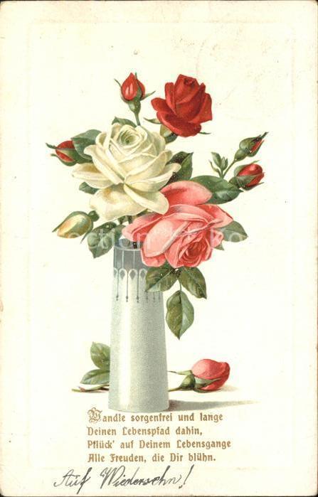Rosen Gedicht Kat. Pflanzen