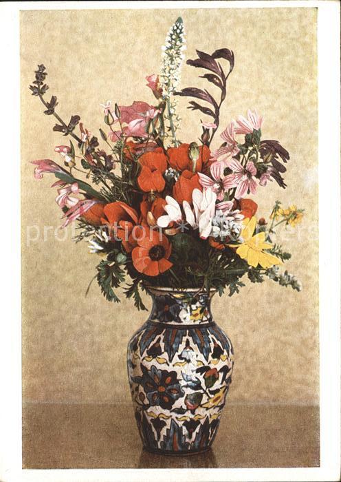 Blumen Strauss Vase Kat. Pflanzen