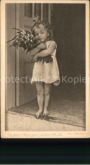 Ka06592 Baby Nursery Bebe Guten Morgen Liebe Mutti Kategorie Kinder Alte Ansichtskarten