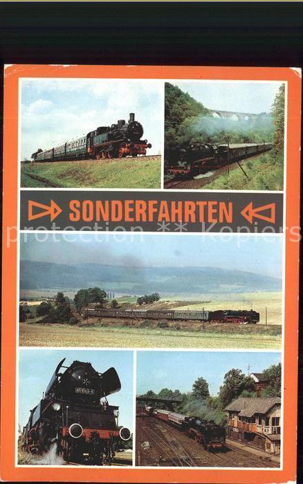 Eisenbahn Sonderfahrten Kat. Eisenbahn