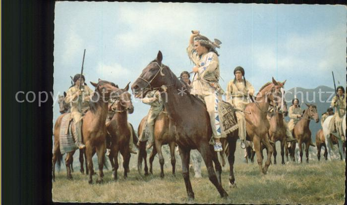 Winnetou Indianer Pierre Brice Kat. May Karl