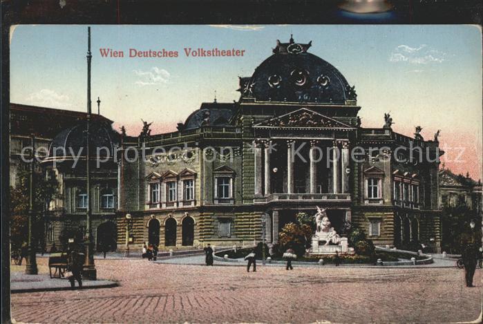 Theatergebaeude Wien Deutsches Volkstheater Kat. Gebaeude